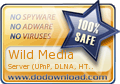 Wild Media Server (UPnP, DLNA, HTTP) is 100% SAFE